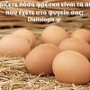 Φρέσκα αυγά : Γνωρίζετε πόσο φρέσκα είναι τα αυγά που έχετε στο ψυγείο σας;