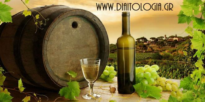 κρασί και θερμίδες