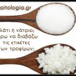 Αλάτι ή νάτριο