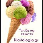 είδη παγωτού